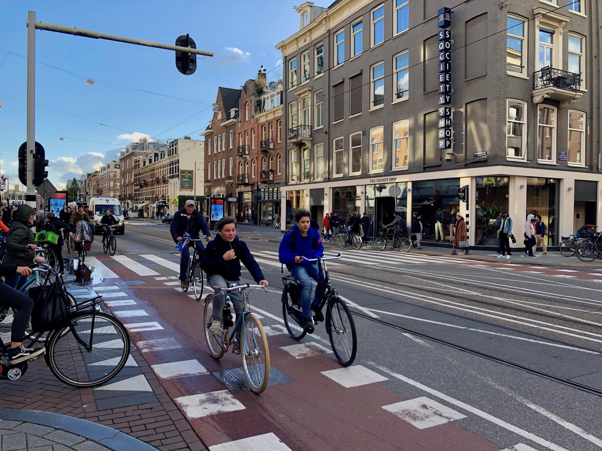 City bike riders
